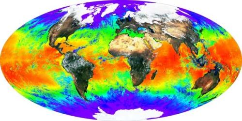 SurfaceTemperature (imagen de la NASA)